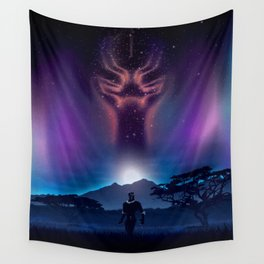 Black Panther Heaven Wall Tapestry