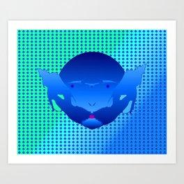 1207 Bluebeard ... Art Print