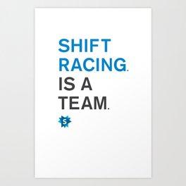 is a team Art Print