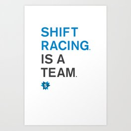 is a team Art Print