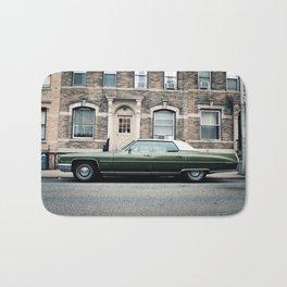 New York City Vintage Cadillac de Ville (II) Bath Mat