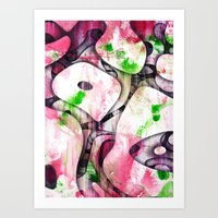 soul Art Prints featuring Soul by SensualPatterns