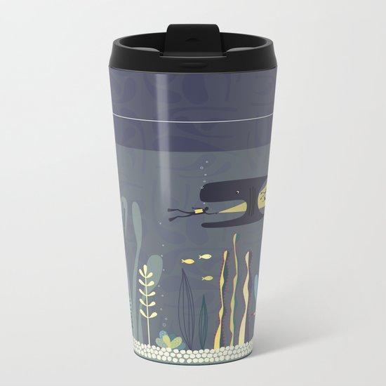The Fishtank Metal Travel Mug