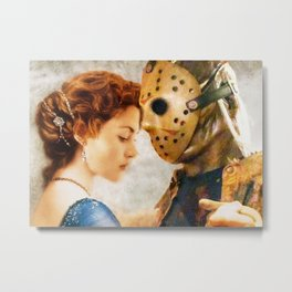 Jason Vorhees as Jack Dawson Metal Print