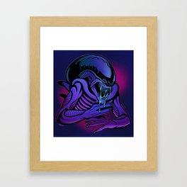 Xenomorph Drone Framed Art Print