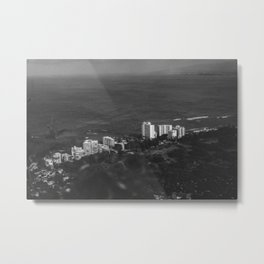 Hawaii- Cityscape Metal Print