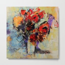 Bouquet de Couleurs Metal Print
