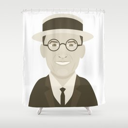 Harold Lloyd Shower Curtain