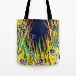 Moonlight Daisies Tote Bag