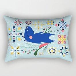 Happy Dog Year Rectangular Pillow