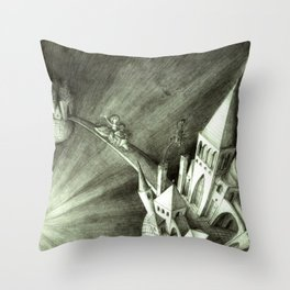 Evita & Stergios Throw Pillow