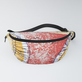 Sunset stitched Fanny Pack