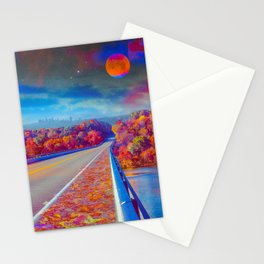 Water Underneath The Bridge Stationery Cards