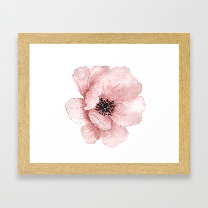 Flower 21 Art Gerahmter Kunstdruck
