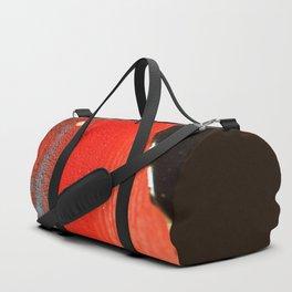 BLACK RED Duffle Bag