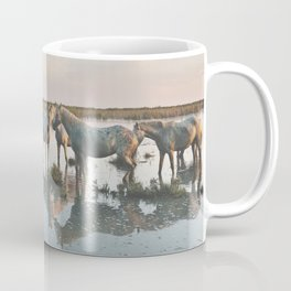 Camargue Horses VIIII Coffee Mug