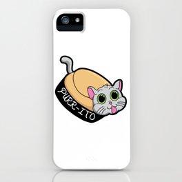 Purr-ito Kitty Burrito iPhone Case