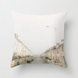 Rainy Sunday Throw Pillow