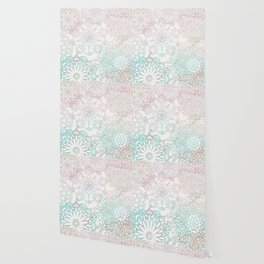 Spring blooms mandala Wallpaper