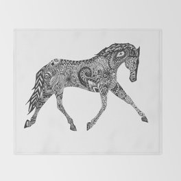 Paisley Pace Throw Blanket