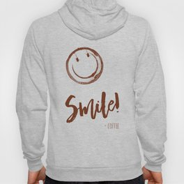 Smile! - Coffee - color version Hoody