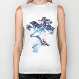 The last apple tree Biker Tank