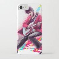 darren criss iPhone & iPod Cases featuring Listen Up Darren Criss by Ines92