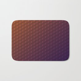Gradient cube pattern Bath Mat