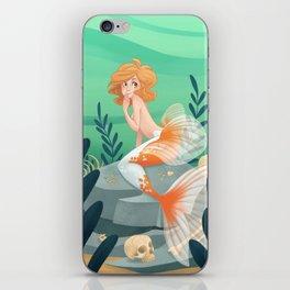 Veiltail Mermaid iPhone Skin