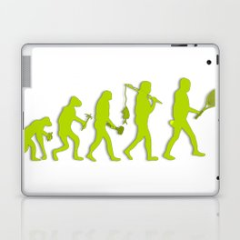 Evolution of Tennis Species Laptop & iPad Skin