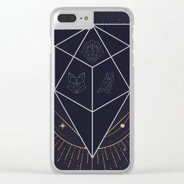 The Triad Clear iPhone Case