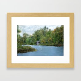 Secluded in Cape Cod Framed Art Print