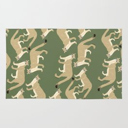 Pattern cougar green Rug