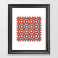 Rosinga Pattern Framed Art Print