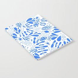 Flora in Blue Notebook