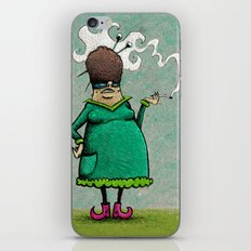 Madame Adipeux iPhone & iPod Skin