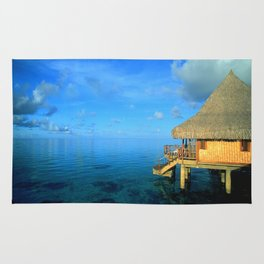 Over-the-Water Island Bungalow Rug