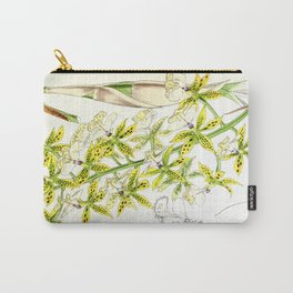 A orchid plant - Vintage illustration Carry-All Pouch