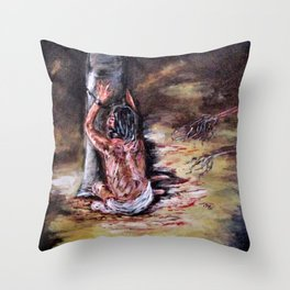 Our Sins Throw Pillow
