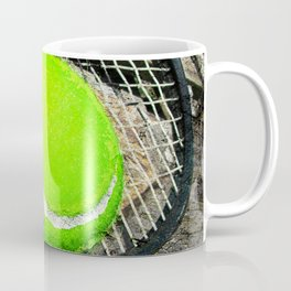 Tennis print work vs 2 Coffee Mug