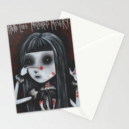 Mildred Misery - Spleen Sister by Macabre Stationery Cards