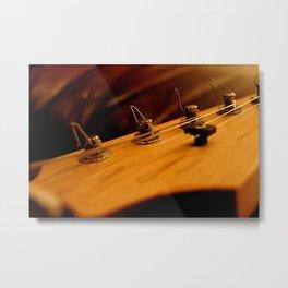 Guitar Tuners Metal Print