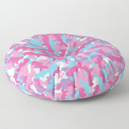 Unicorn's Breakfast [Camo Pattern] Floor Pillow