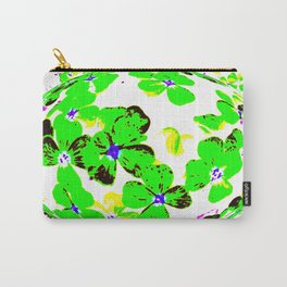 Floral Easter Egg Carry-All Pouch