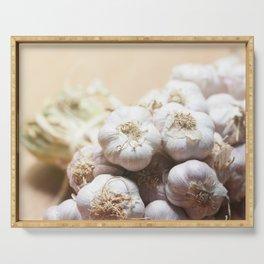 Garlic Serving Tray