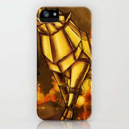 The Golden Boar iPhone Case