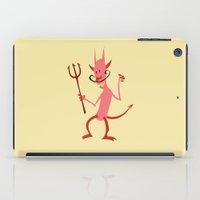 diablo iPad Cases featuring Devil Diablo by Marco D Carrillo