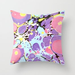 Surprise #Abstract #Art by Menega Sabidussi #society6 Throw Pillow