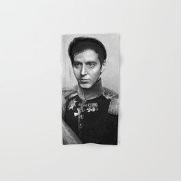 Al Pacino Scar Face General Portrait Painting   Fan Art Hand & Bath Towel