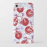 bikes iPhone & iPod Cases featuring Bikes by StephanieTara